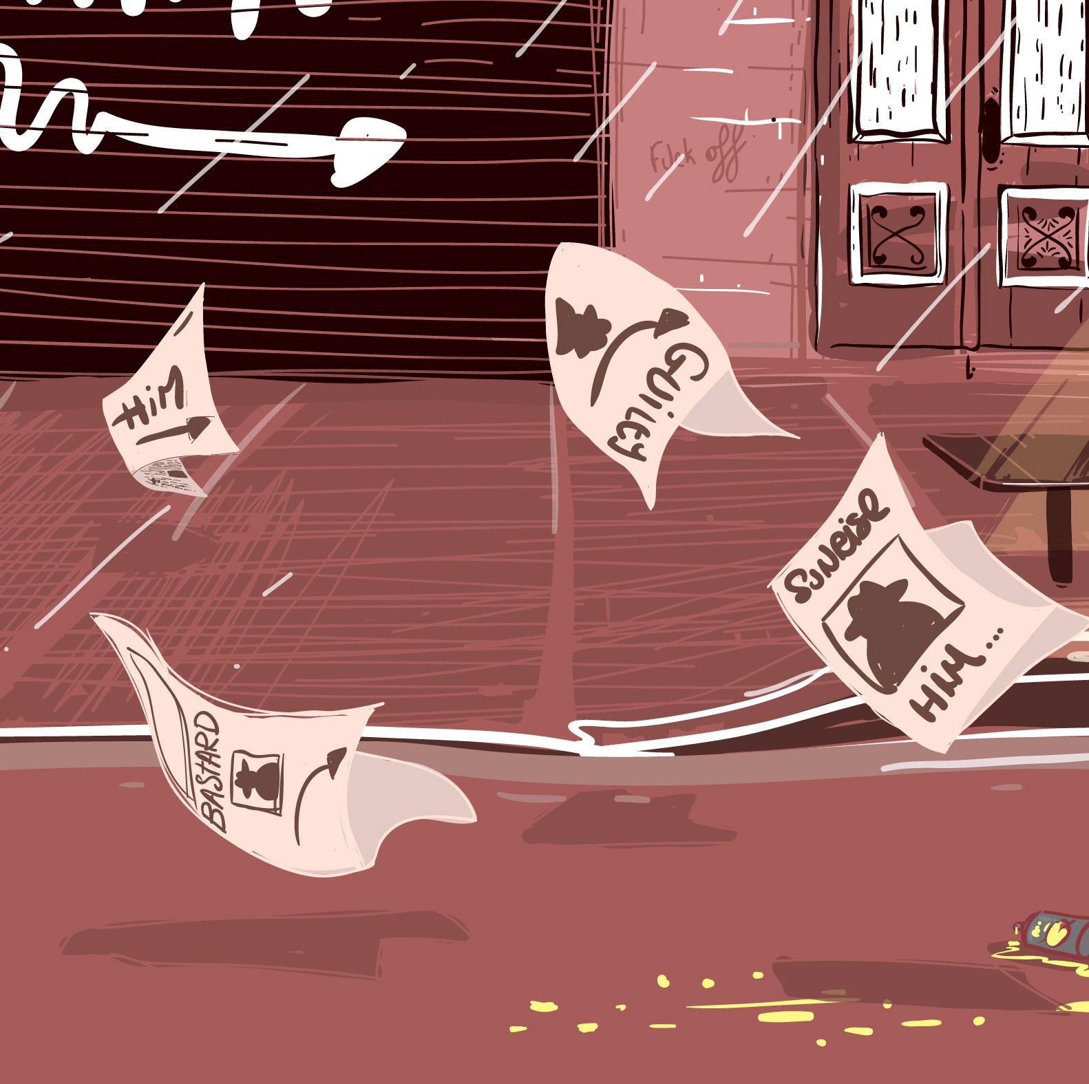 minastrie illustration les histoires courtes guilty
