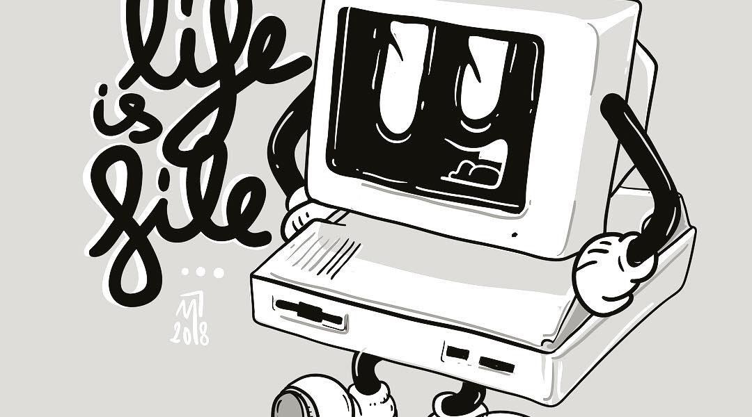 minastrie illustration file is life