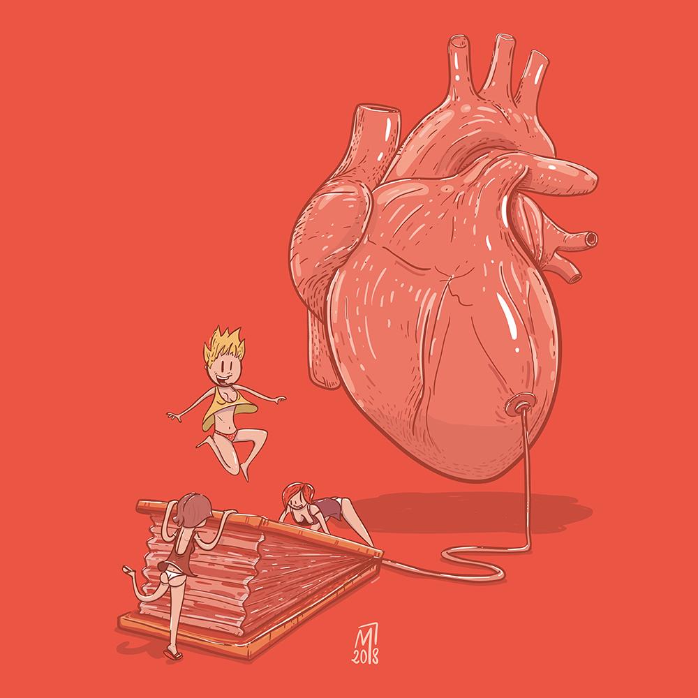 minastrie heart breather