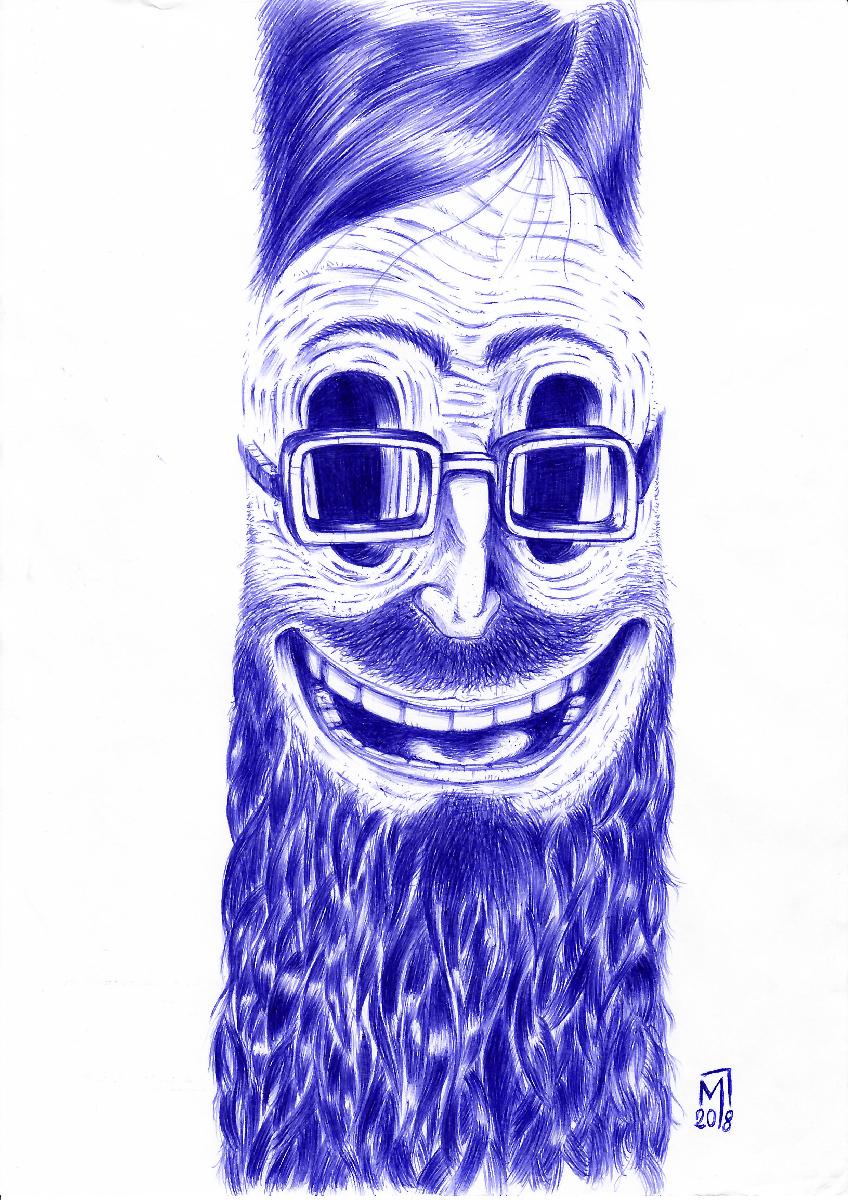 minastrie illustration visage