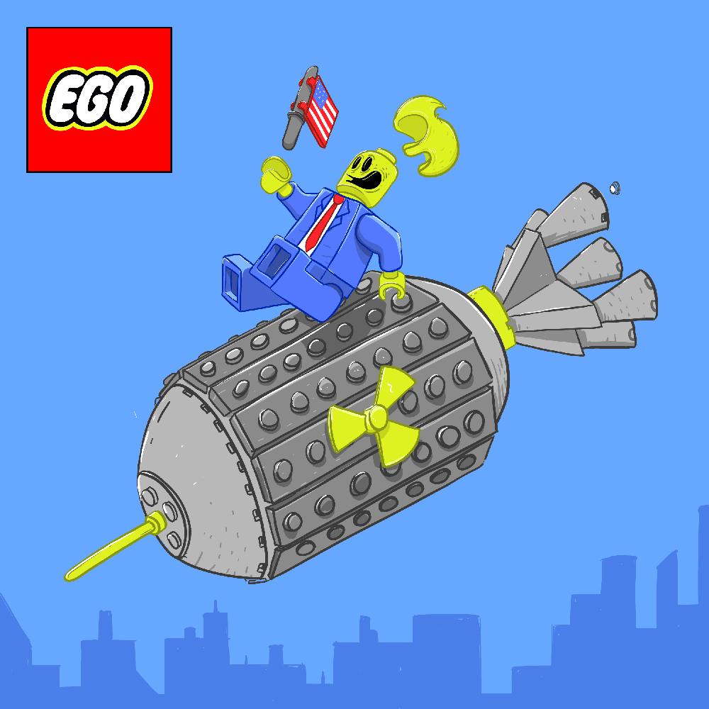 minastrie Lego americain illustration