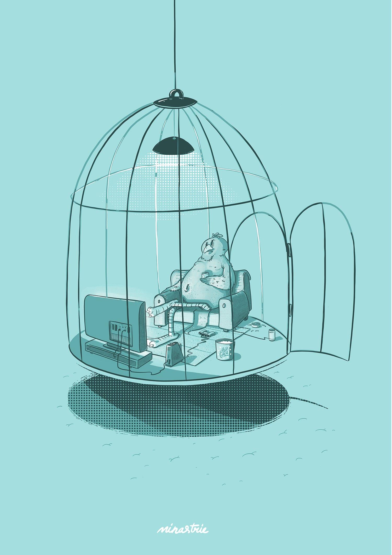 minastrie - modern free bird